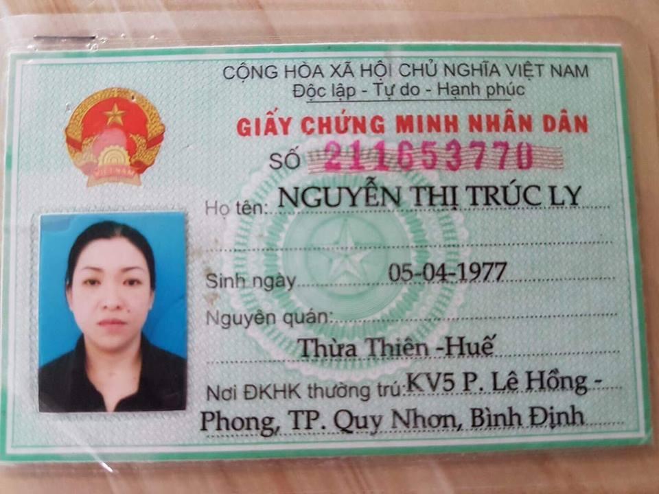 Nguyễn Thị Trúc Ly (Bé) - Nợ Xấu Quy Nhơn