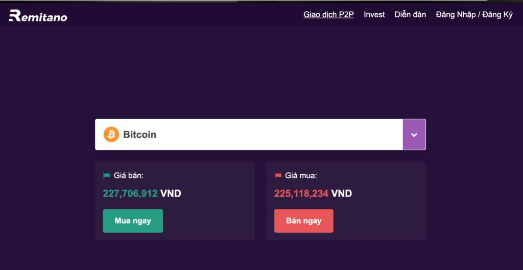 Hướng dẫn mở tài khoản Remitano để mua bán bitcoin cùng nhiều tài sản kỹ thuật số khác